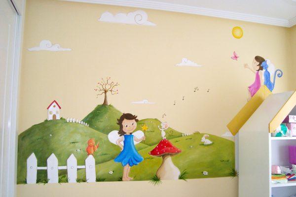 14 mura infantil uncuento de hadas murales y cuadros paula minguez