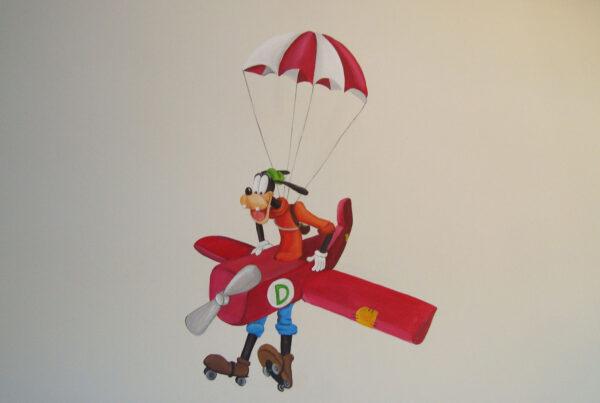 2.c Mural Disney Mickey pluto y Minnie 1 1