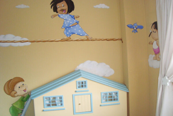 27 Mural Familia Telerin Cleo y Cuquin