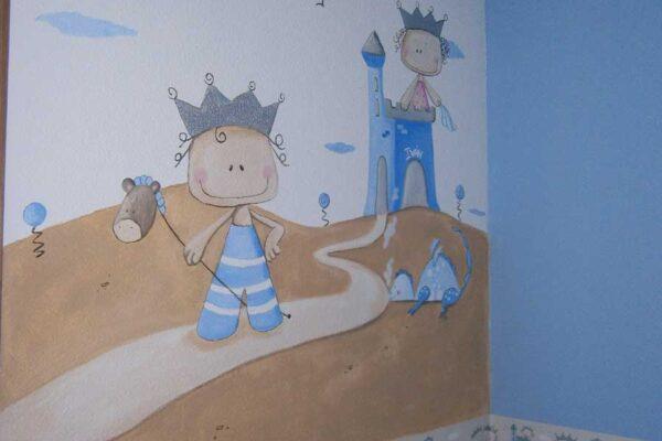32.b Mural el principe y el dragon