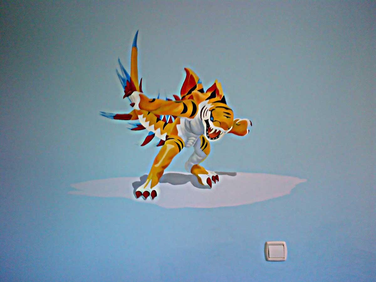 39 Mural invizimals tigershark 1
