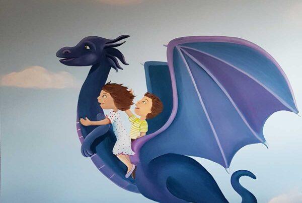 1 Ninos volando en un dragon sala de extracciones 1