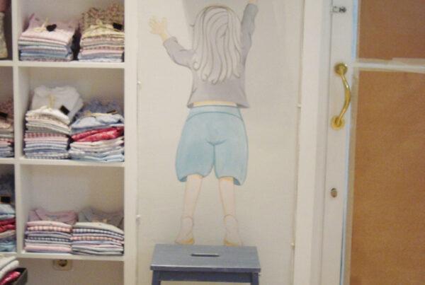 15 mural infantil para tienda de ropa infatil murales ycuadros paula minguez