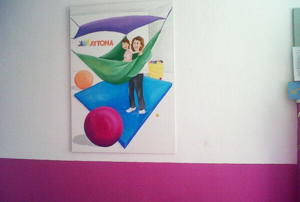 2 Murales infantiles Aytona Paula Minguez Murales y Cuadros