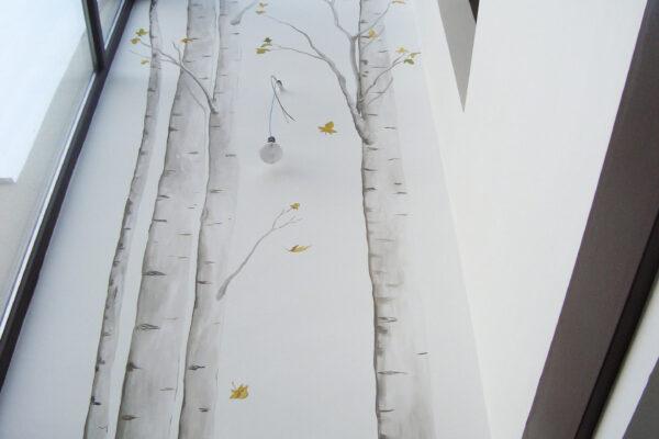 10 mural troncos de arboles y hojas 1 1