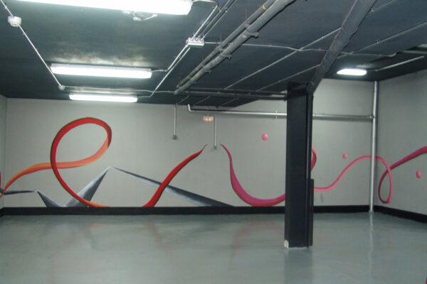 17.2 Mural decorativo Garaje privado