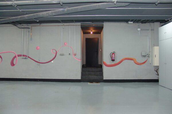 17.5 Mural decorativo Garaje privado