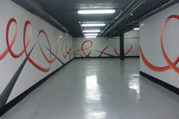 17.a Mural decorativo Garaje privado