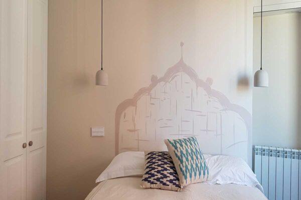 22 Mural cabecero de cama